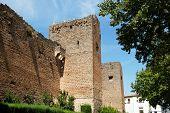 foto of arabic  - View of the Arabic castle  - JPG