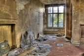 HDR photo of abondoned house
