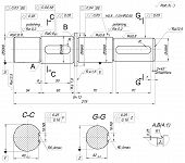 picture of degree  - Expanded sketch of shaft with polishing - JPG