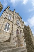 picture of church-of-england  - Lovely old Wesleyan Methodist Church in Marazion in cornwall england uk - JPG