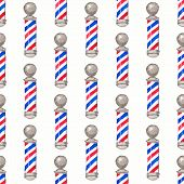 picture of barber  - Barber pole - JPG