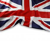 pic of jacking  - Union Jack flag on plain background - JPG