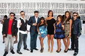 LOS ANGELES - SEP 12:  Jersey Shore Cast arrives at the 2010 VMA Awards at Nokai LA LIve on Septembe