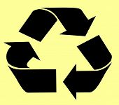 Recycle On Yellow