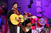 LOS ANGELES - NOV 20:  Ronn Moss, Peter Beckett -  Player at the Hollywood & Highland Tree Lighting