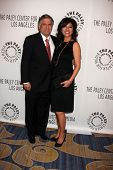LOS ANGELES - NOV 30:  Les Moonves, Julie Chen arrive at the Paley Center for Media Annual Los Angel