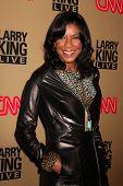 LOS ANGELES - DEC 16:  Natalie Cole arrives at CNN's 'Larry King Live' final broadcast party at Spag