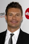 LOS ANGELES - JAN 5:  Ryan Seacrest arrives at the Comcast Entertainment Group Television Critics Association Cocktail Reception at Langham Hotel on January 5, 2011 in Los Angeles, CA