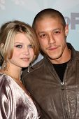 PASADENA, CA - JAN. 11: Sarah Jones and Theo Rossi arrive at the FOX TCA Winter 2011 Party at Villa