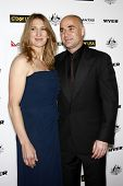 LOS ANGELES - JAN 22:  Andre Agassi and Steffi Graf arrives at the 2011 G'Day USA Australia Week LA