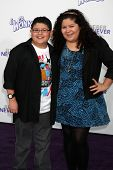 LOS ANGELES - FEB 8:  Rico Rodriguez, Raini Rodriguez.  arrives at the