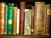 picture of vintage antique book  - antique books - JPG
