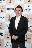 SANTA MONICA, CA - FEB 26:  Danny Boyle arrives at the 2011 Film Independent Spirit Awards at the Be