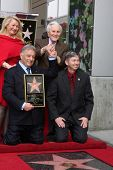 LOS ANGELES -  MARCH 1: Attendees at Maestro Zubin Mehta's Hollywood Walk of Fame ceremony pose for