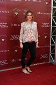 LOS ANGELES - MAR 13:  Sasha Alexander arriving at the John Varvatos 8th Annual Stuart House Benefit