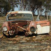 Wrecked Ute