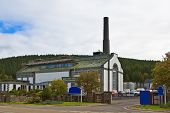 picture of peace-pipe  - Tormore Distillery in the Whisky Trail Advie Scotland - JPG