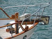 Yacht On The Water