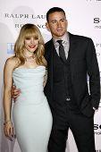 LOS ANGELES - FEB 6:  Rachel McAdams; Channing Tatum arrives at