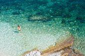 Bathers, Agia Efimia Sea Kefalonia