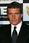 LOS ANGELES - FEB 7:  Antonio Banderas arrives at the 10th Annual Visual Effects Society Awards at B