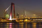 Willemsbridge and Erasmusbridge, Rotterdam, the Netherlands