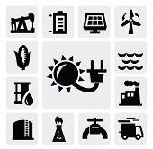 Energie Industrie-Symbol