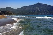 stock photo of dalyan  - The Aegean Sea in Dalyan in Turkey - JPG