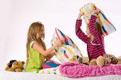 The Girls Pillow Fight