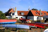 Gudhjem on Bornholm Island, Denmark