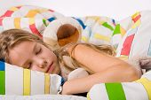 Cute Sleeping Child