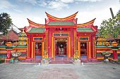 stock photo of dua  - Caow Eng Bio chinese Buddhiist Temple in Tanjung Benoa near Nusa Dua - JPG