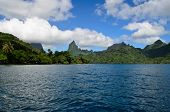Tropical Moorea Skyline