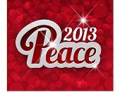 Estrelas de paz 2013