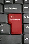 Keyboard Contact Us
