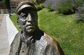 Poet Statue