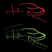 EKG of auto
