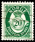 Norwegian Post Stamp