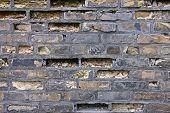 Nineteenth Century Brick Wall
