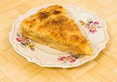 Apple Cake With Lemon Shortcrust Pastry