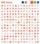 196 icons
