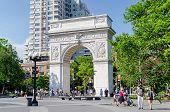 Washington Square Arch, New York City
