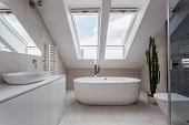 stock photo of wash-basin  - Urban apartment  - JPG