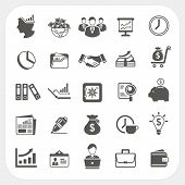 Business, Finance Icons Set