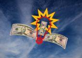 Money Making Idea Flying