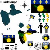 Map Of Guadeloupe