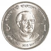 One Bangladeshi Taka Coin
