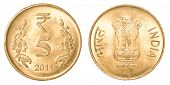 5 Indian Rupees Coin