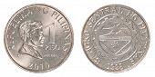 1 Philippine Peso Coin