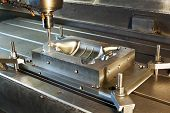 Industrial Metal Mold Milling